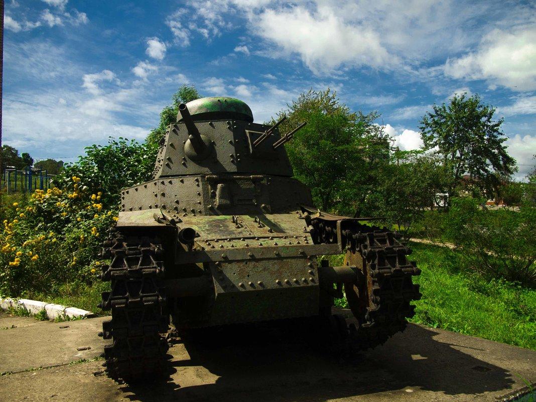 танк МС-1 (Т-18). - Павел Бескороваев