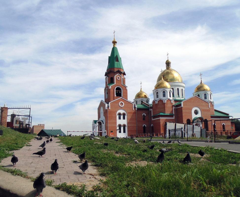 Дорога к Свято Троицкому монастырю. - Мила Бовкун
