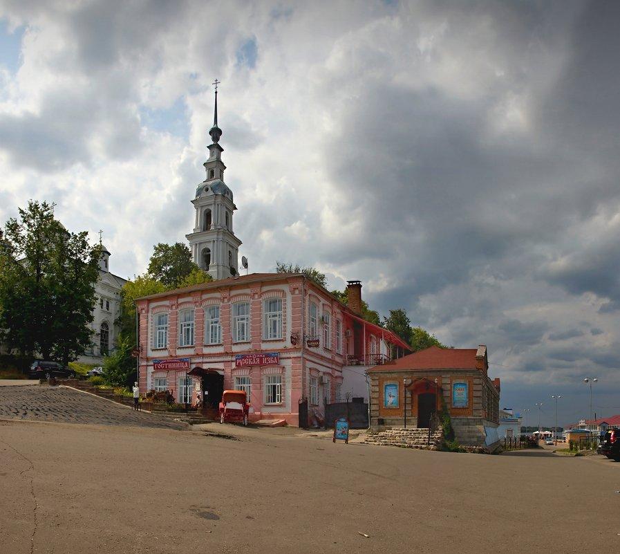 Уездный городок - Константин
