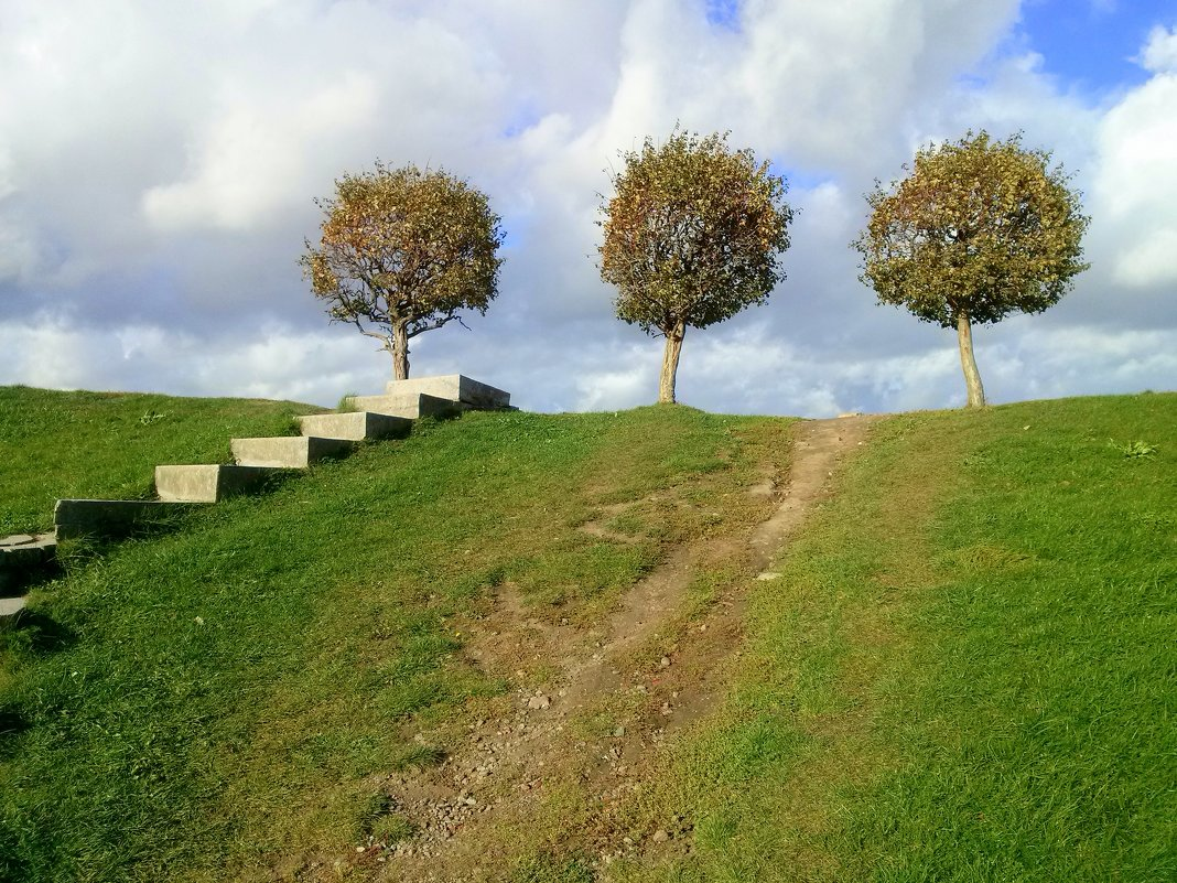 Просто три дерева, но в них такая сила! - Viktoria Petrova