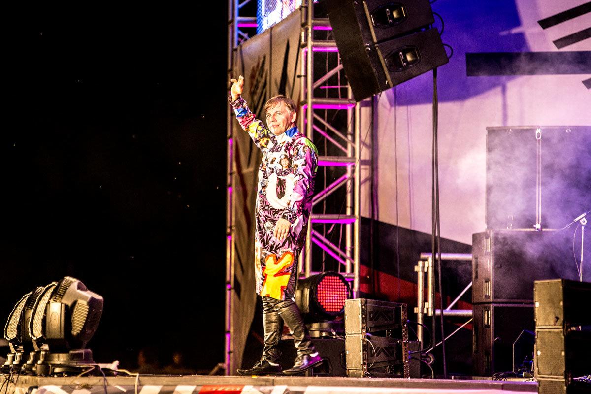 Музыкально-космический фестиваль Простор 2016. Мумий Тролль. - Umi Neko