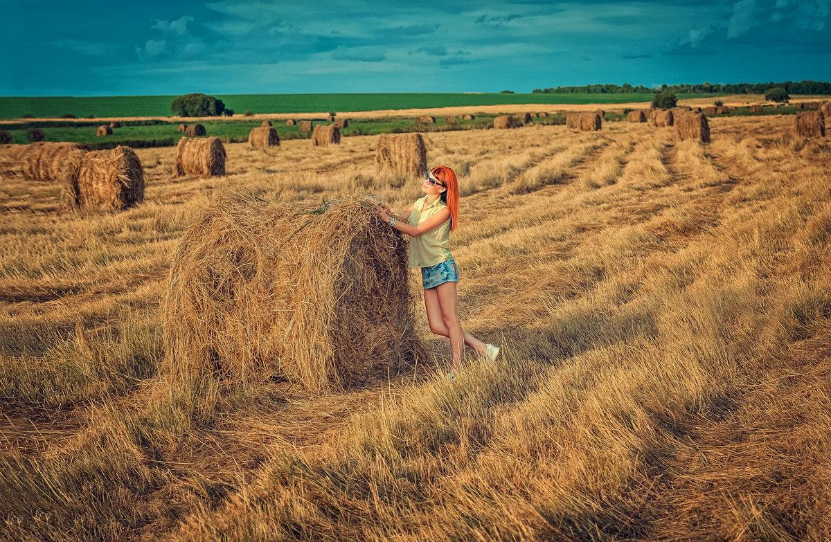 Фотосессия в поле! - Inna Sherstobitova