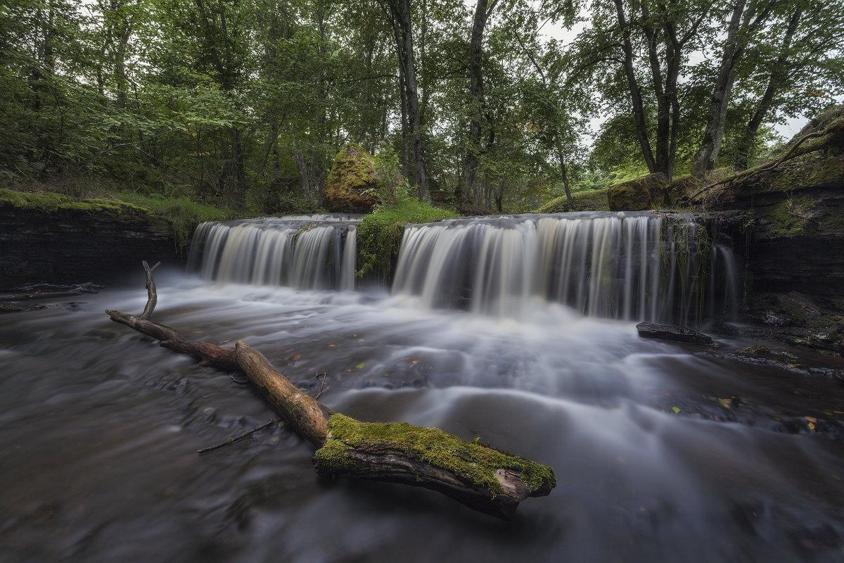 Aluoja juga (водопад Алуоя.Эстония) - Дима Хессе