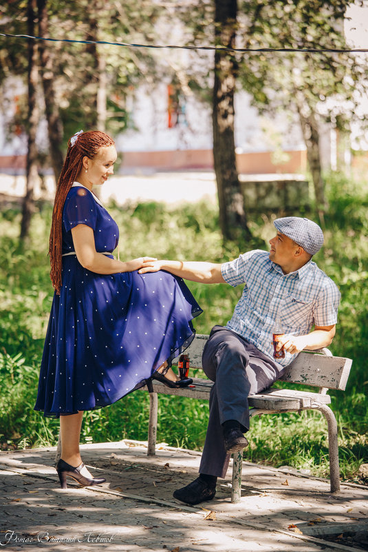 Прогулка в 80-е... Дарья и Максим - Виталий Левшов