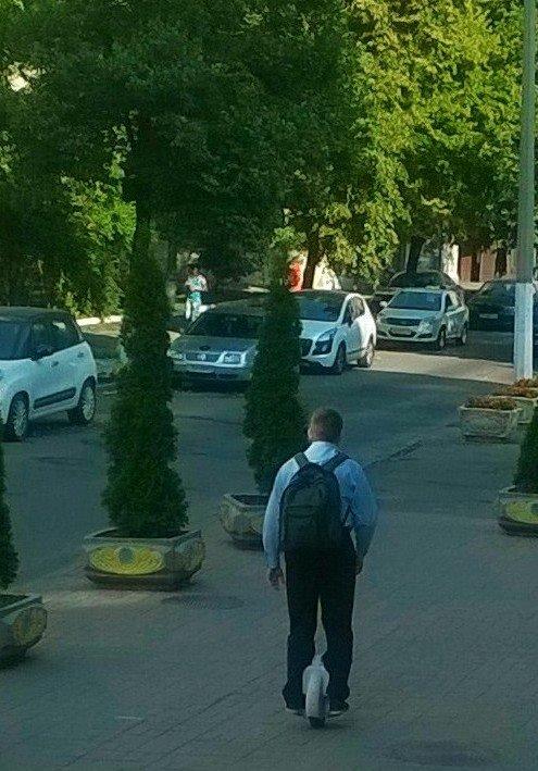 Мобильный траспорт для офисных работников - Наталия Каминская