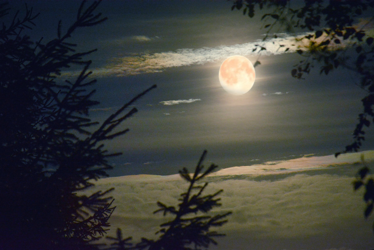 неужели луна получилась? - Наталия П