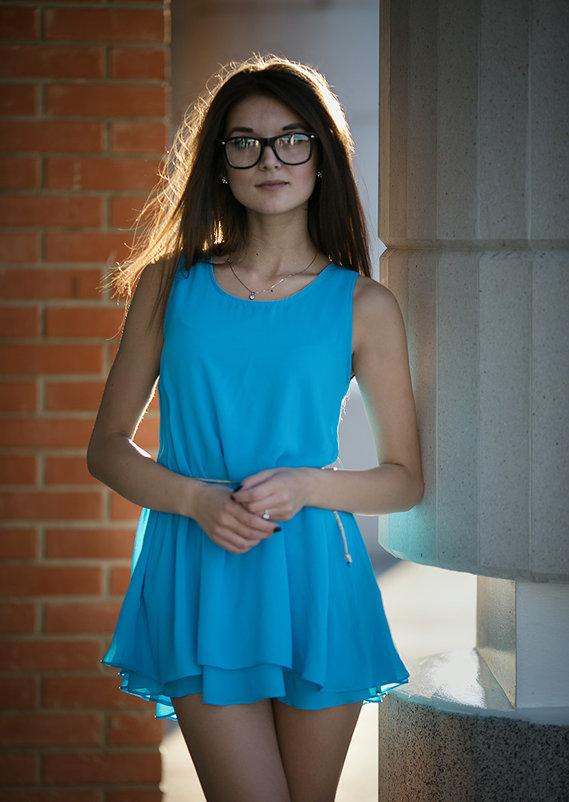 Девушка в голубом - Алекс Римский