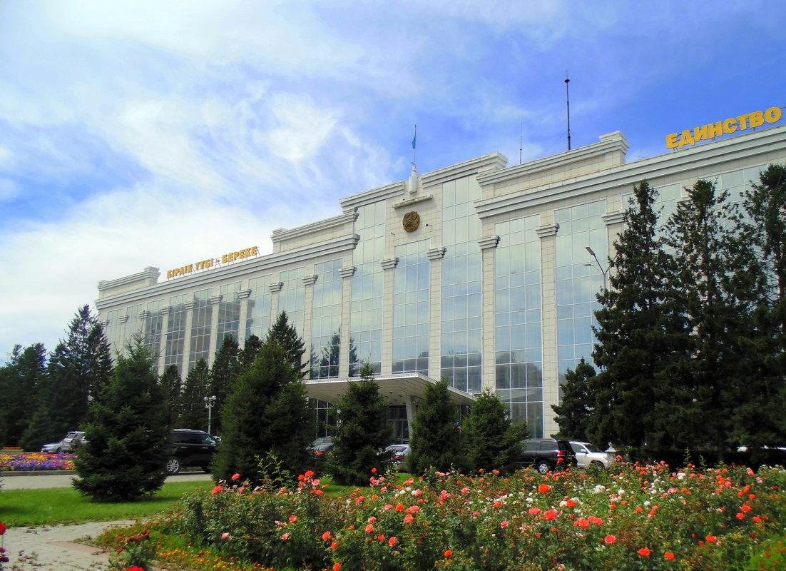 Дом советов . Усть каменогорск - Мила Бовкун