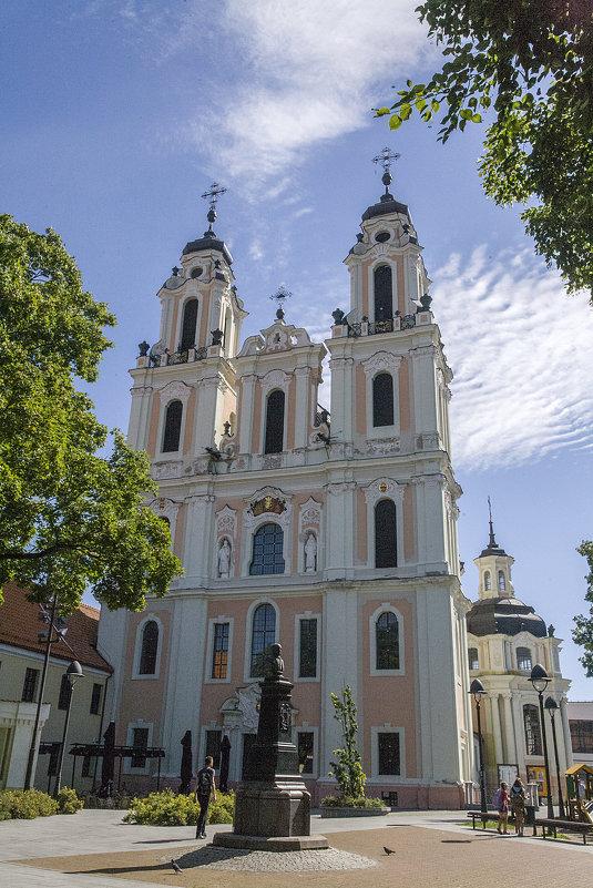 Вильнюс. Церковь Св. Екатерины - Marina Talberga