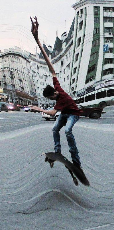 Гравитация-левитация - Рустам Илалов