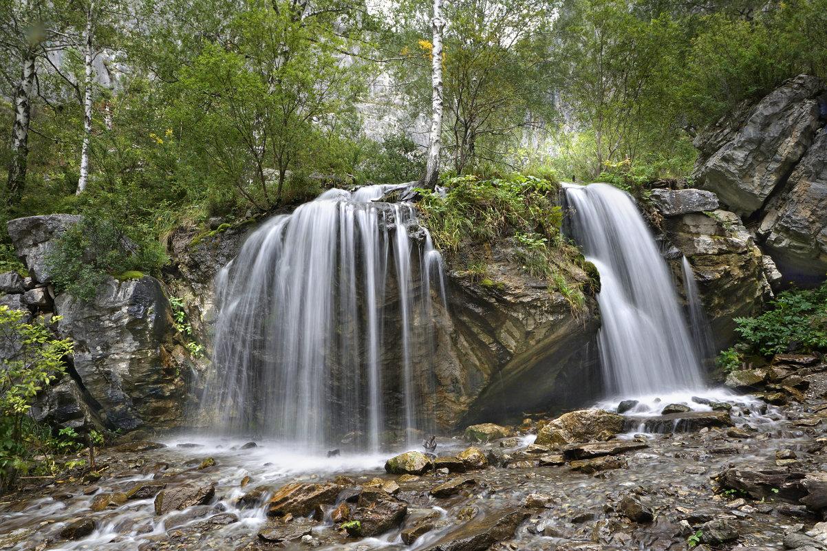 Водопад Чеч-кыш, Алтай - Сергей Завьялов