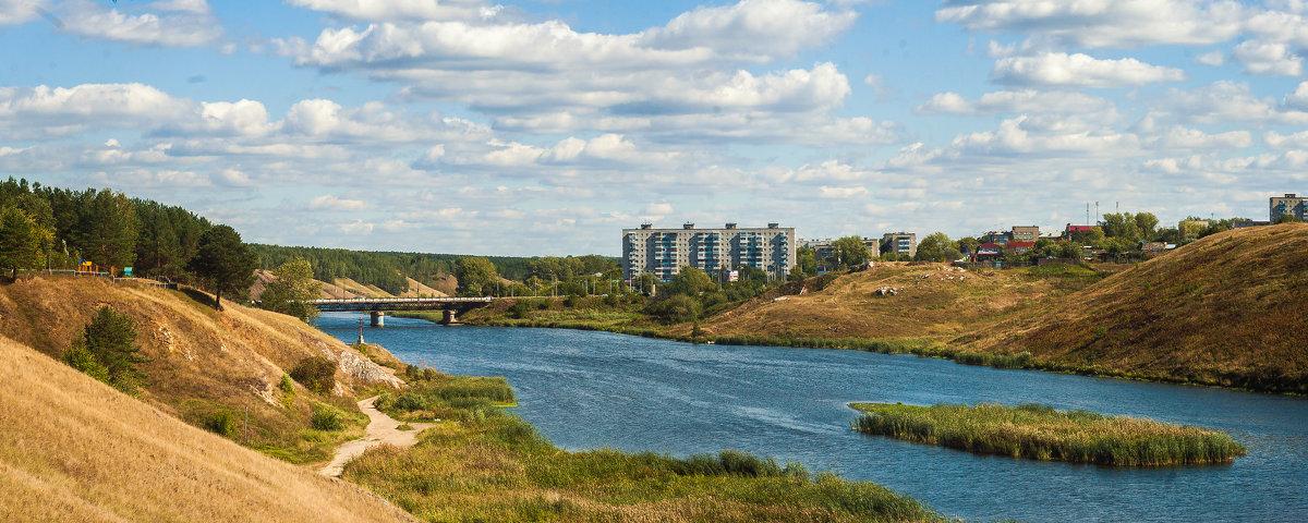Байновский мост (панорама из пяти кадров) - Дмитрий Костоусов