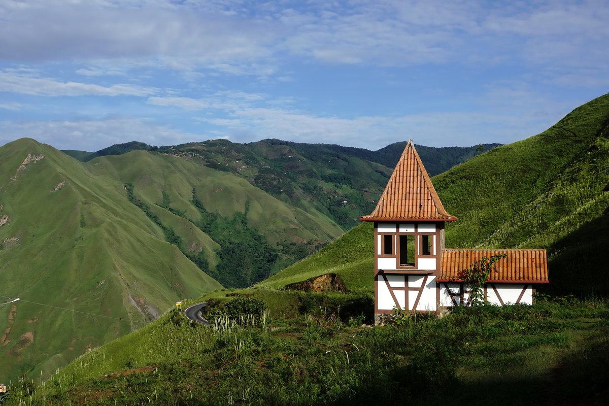 Ахитектура в горах - Igor Khmelev