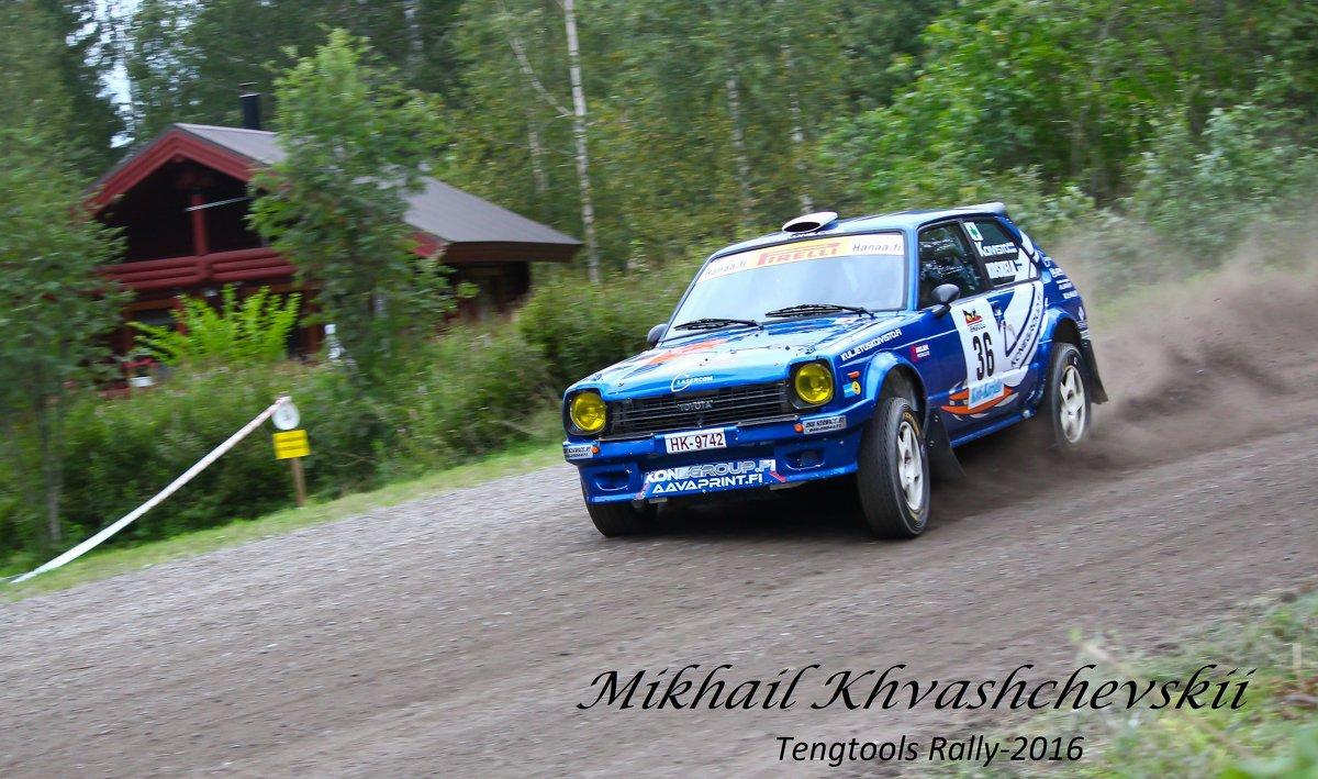 Tengtools Rally-2016 - Михаил Хващевский