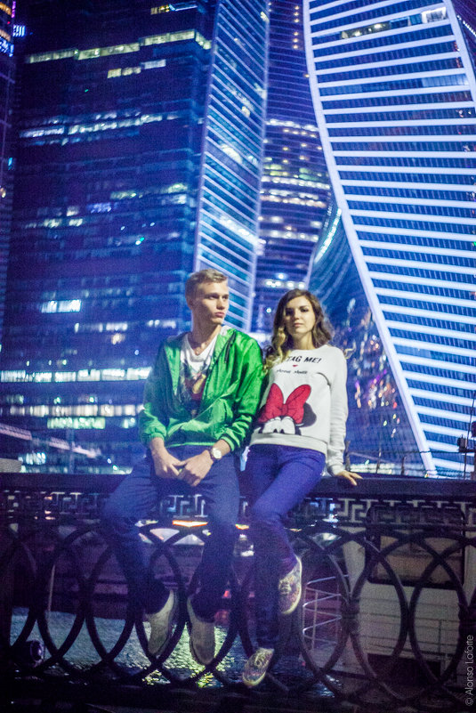 #inLove @ #MoscowCity - alonso Laforte