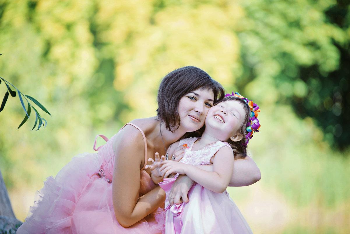 Фотосессия мамы и дочки - марина алексеева