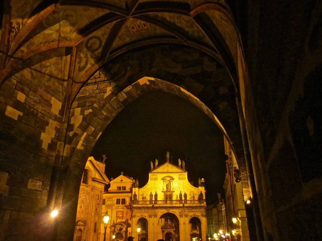 вечерняя Прага - Елена