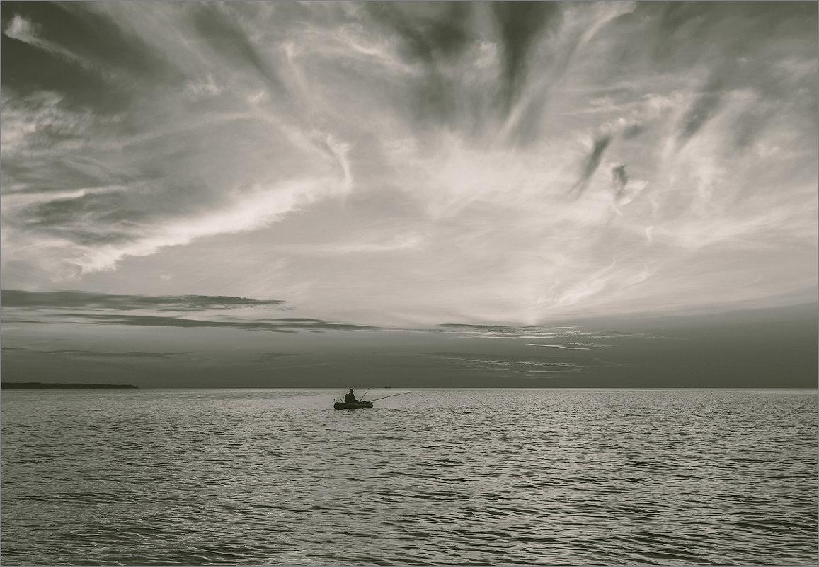 На рыбалке. - Юрий