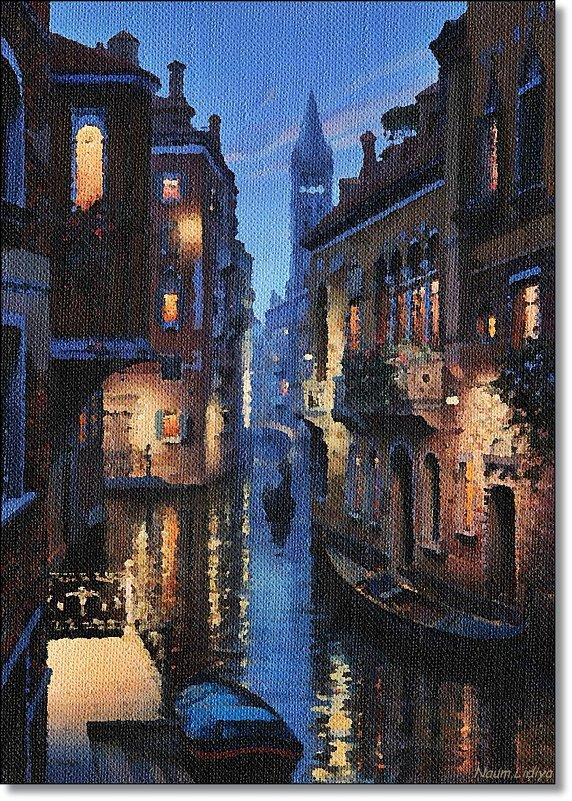 Дождь в городе - Лидия (naum.lidiya)