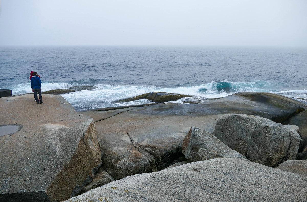 На берегу Атлантики. Океан сегодня очень тихий... - Юрий Поляков