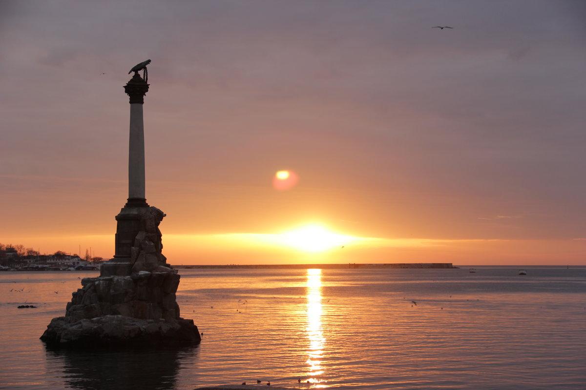 Памятник погибшим кораблям - Yaroslav Color Цветков