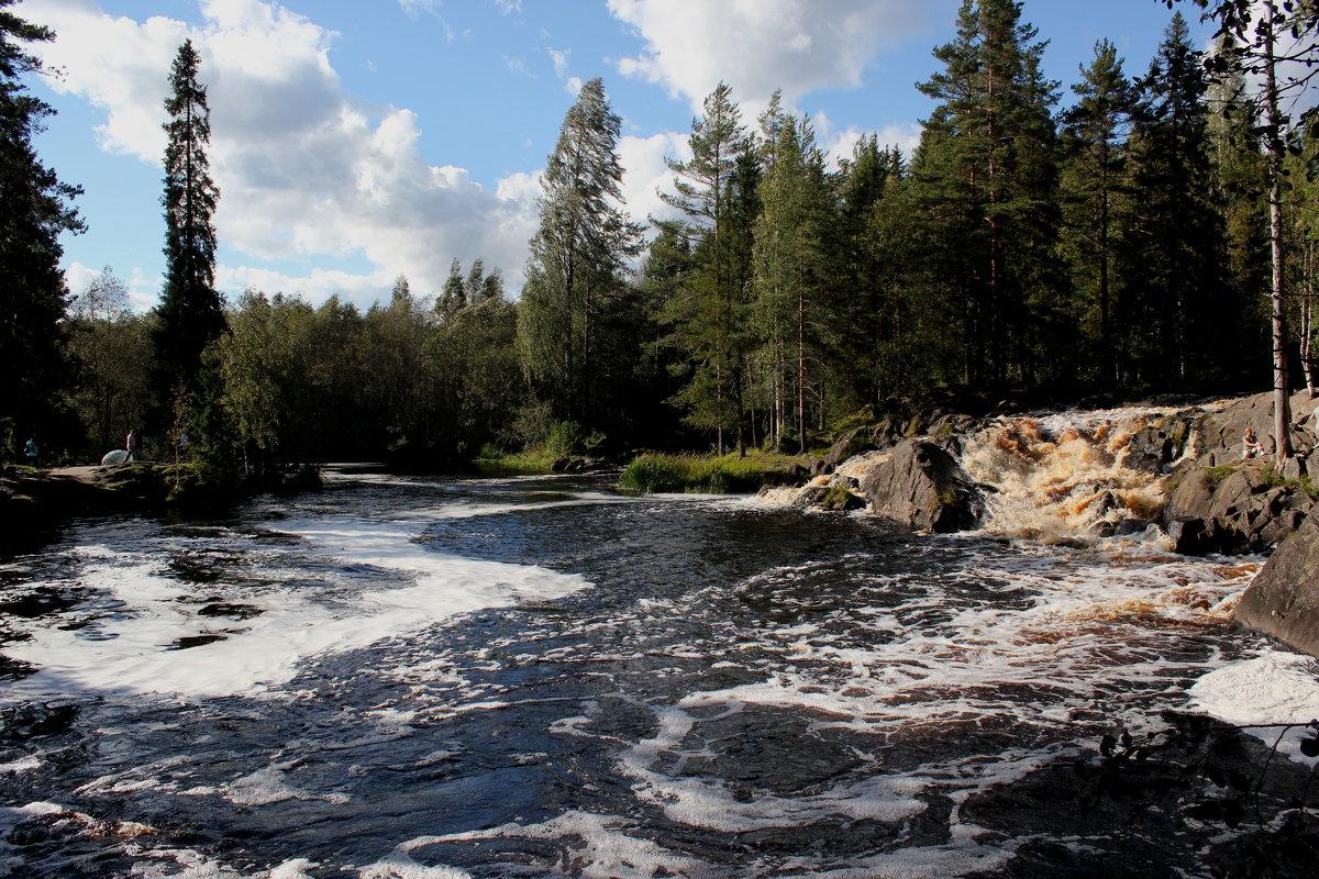 Рускеальские водопады - Наталья Лунева