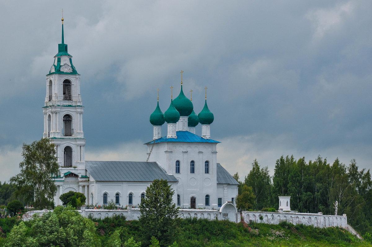 Церковь на берегу Волги - Сергей Тагиров
