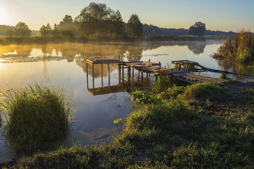 Светлое утро с туманом - Сергей Корнев