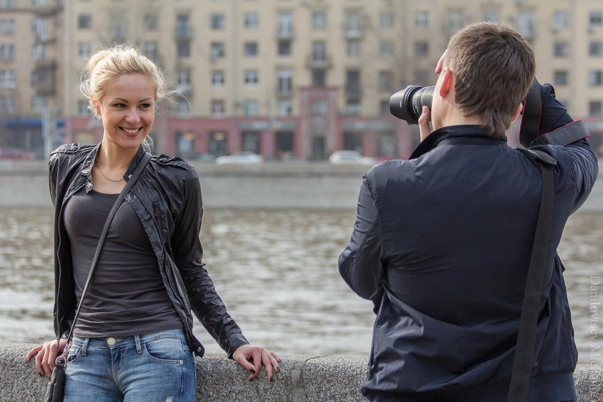 фотограф и модель - Михаил Даниловцев