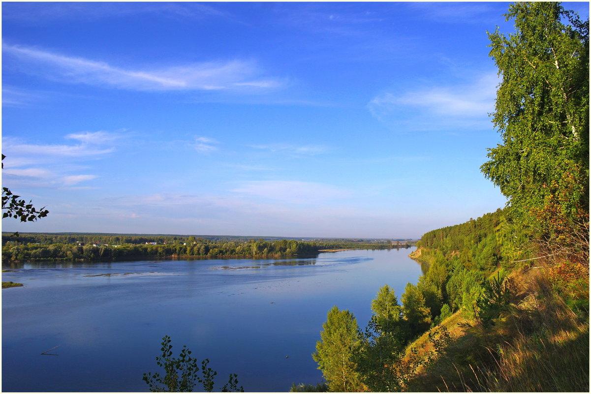 Утренняя река. - Владимир Михайлович Дадочкин