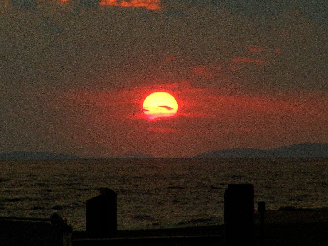 Закат на острове Эгина - Оля Богданович
