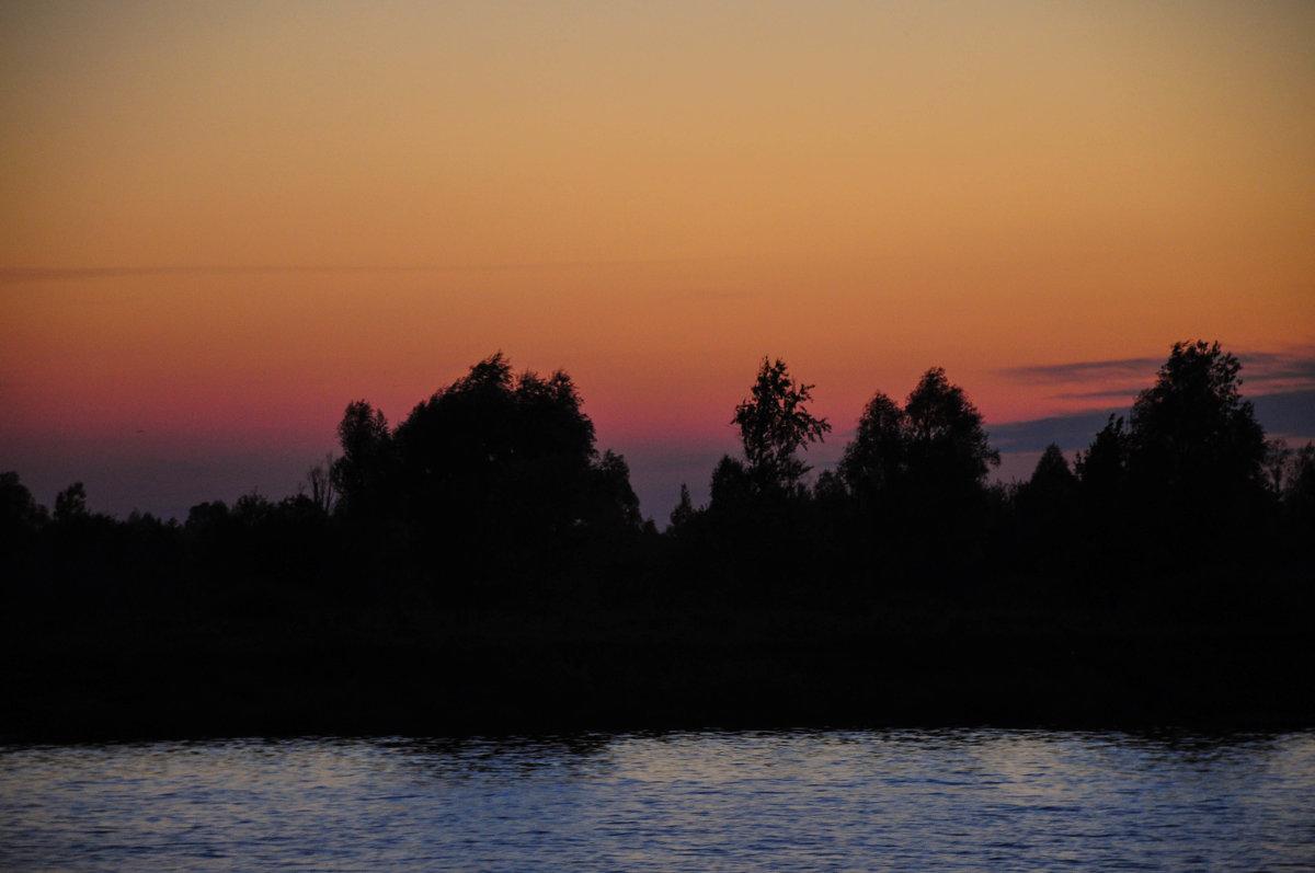 Берег реки в закате - Сергей Тагиров