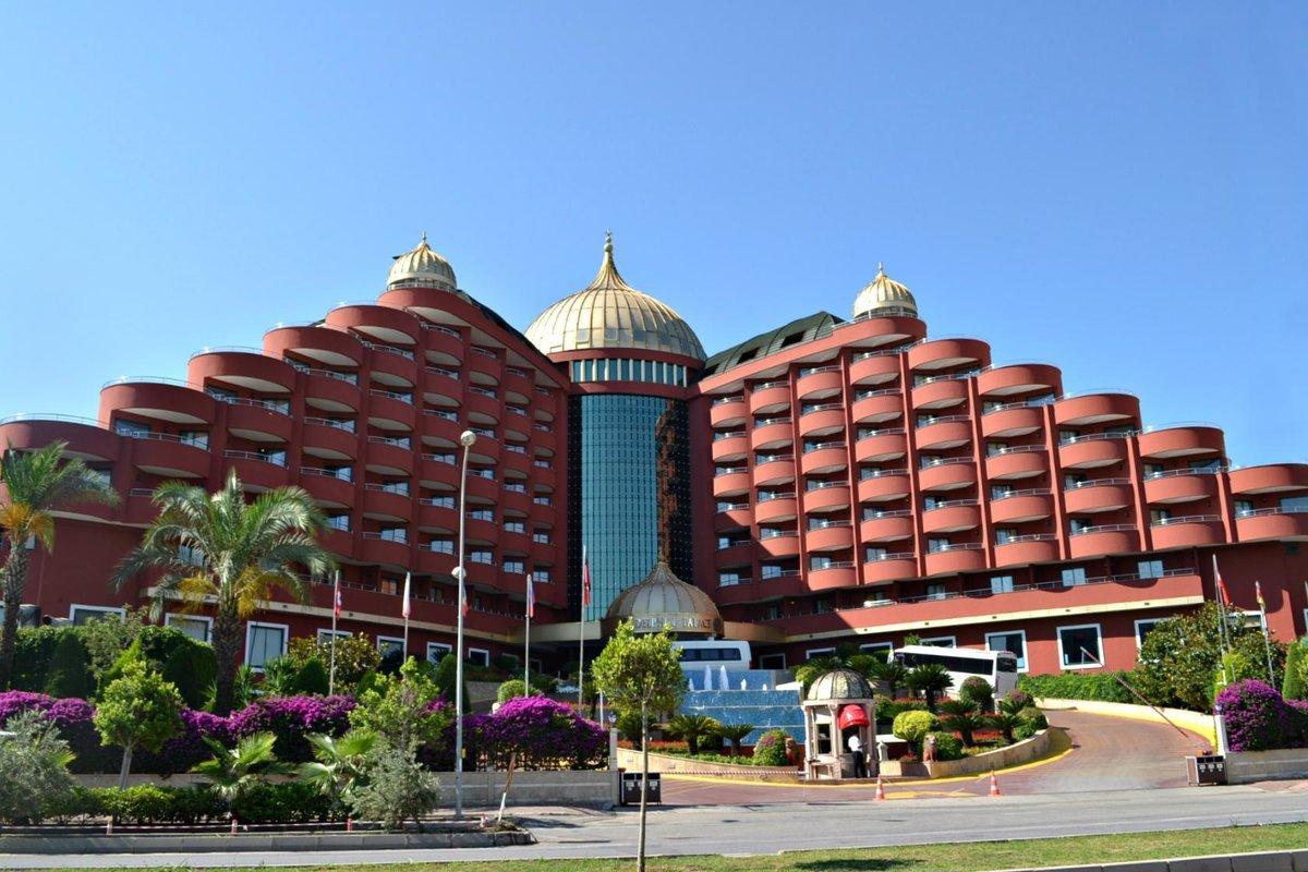 Отель ввиде бабочки...(Турция) - Клара