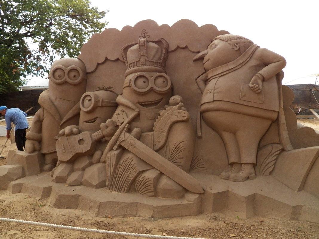 Выставка песчаных скульптур в Петропавловской крепости С-петербурга - Виктор Елисеев
