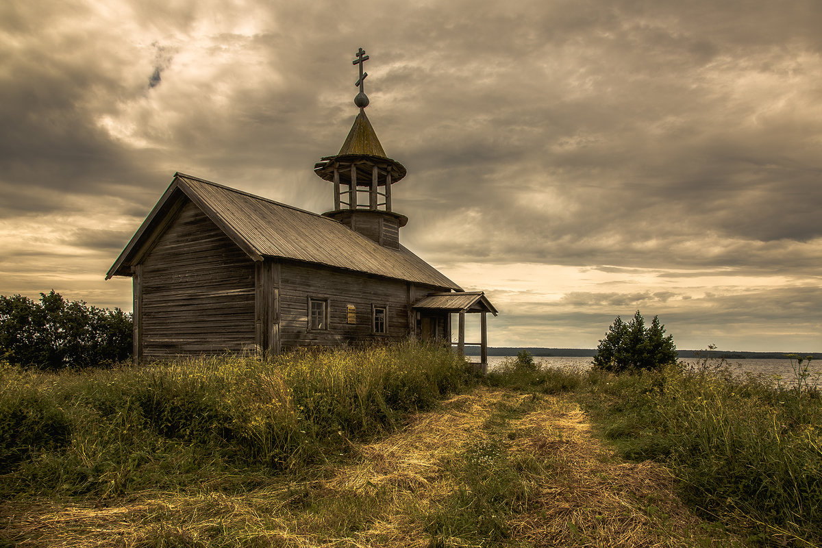 Никольская часовня в деревне д.Кондобережской - Алексей Калугин