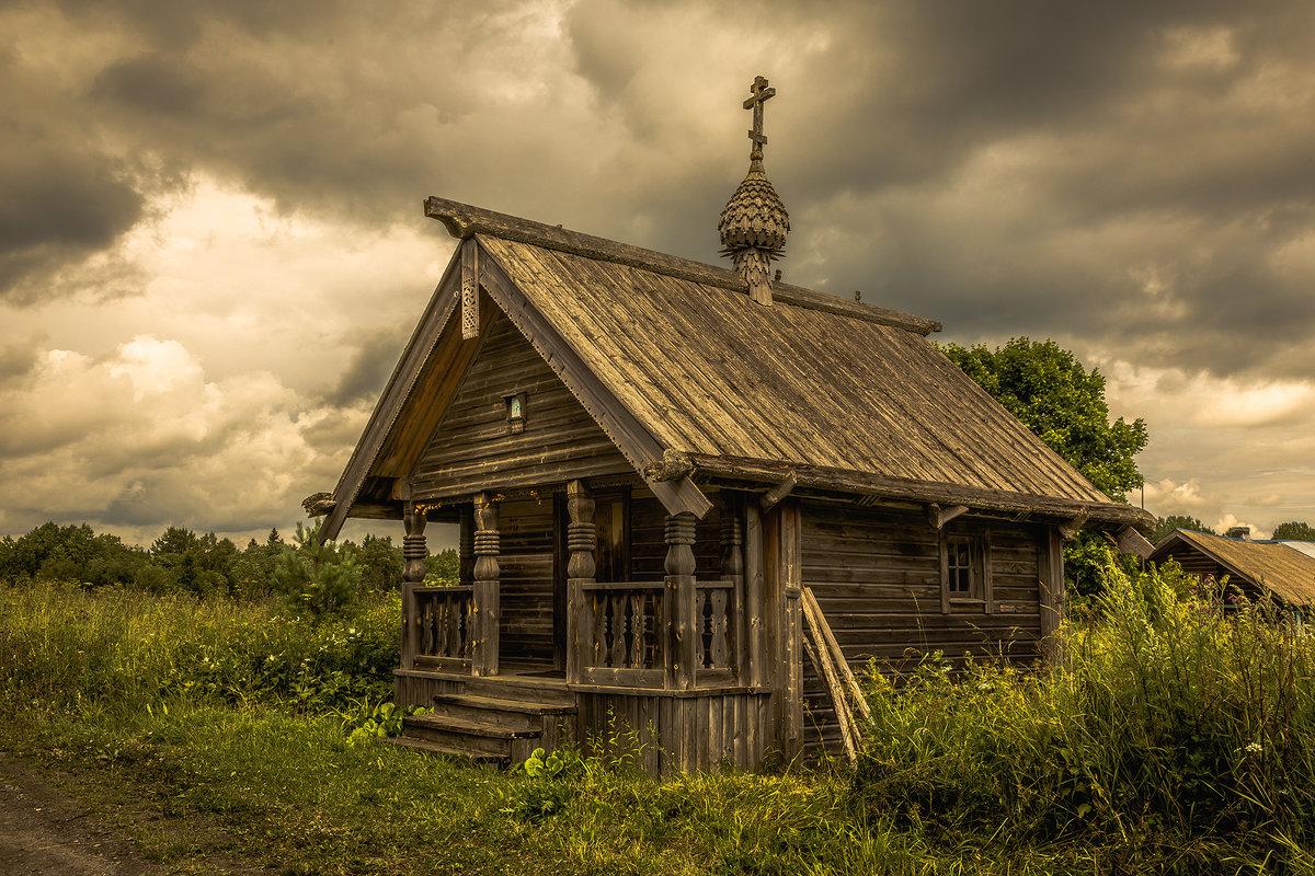 Часовня Сошествия Святого Духа в деревне Типиницы - Алексей Калугин