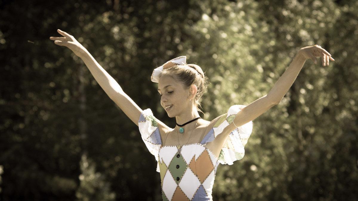 Дочь Гедеминаса Таранды на празднике в Захарово - Ирина Гринченко