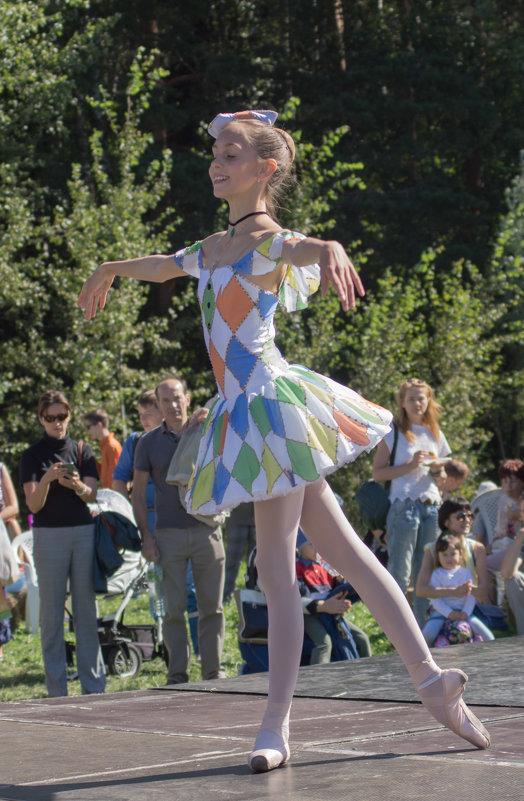 Юная балерина - Ирина Гринченко