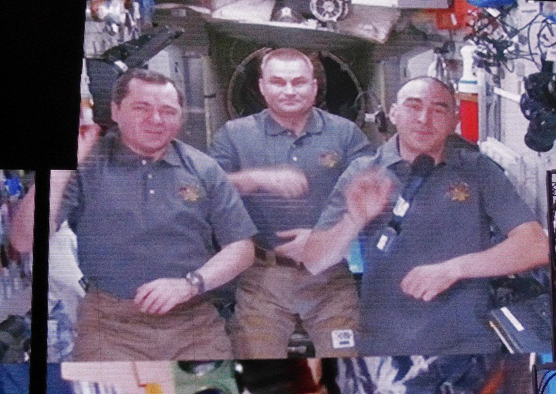 Поздравления Бердску с днём рождения из космоса. - Мила Бовкун