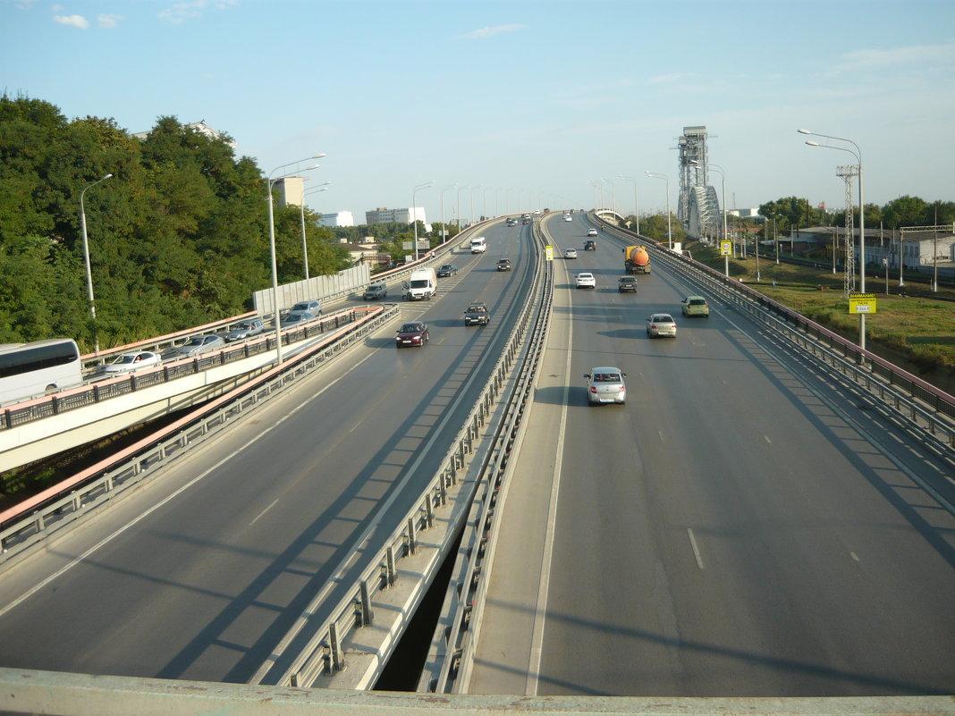 Транспортная развязка - Надежда