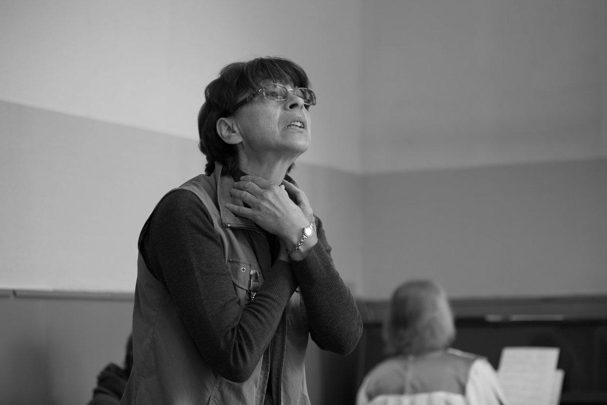 Репетиция церковного хора. - Ilona An
