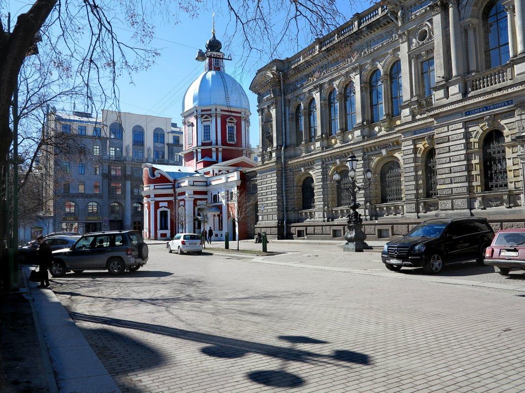 Угол улицы Пестеля. Питер - Наталья