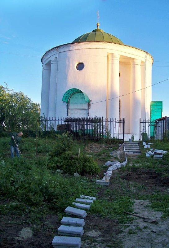 """Этот же храм, вид """"с заднего двора"""" - Алексей Ник"""