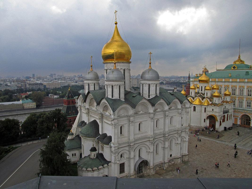 Вид с колокольни Ивана Великого - татьяна петракова