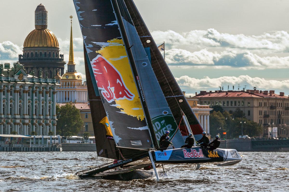 Red Bull Sailing Team в Санкт-Петербурге - Игорь Маснык
