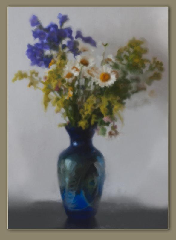 синяя ваза - павел бритшев