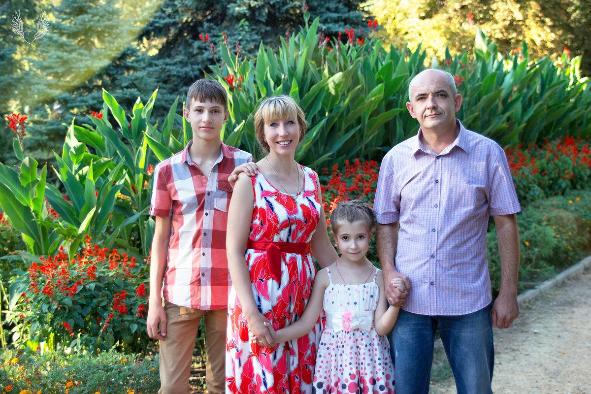 Семья – это счастье, любовь и удача! - Райская птица Бородина