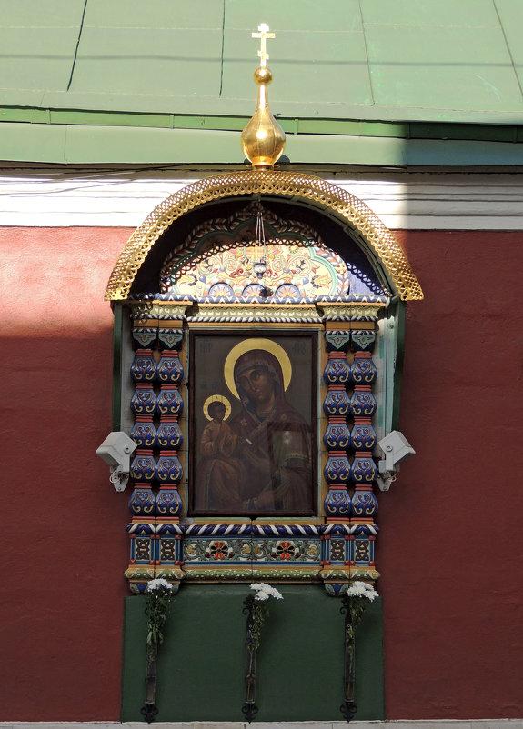 Икона в изразцовом окладе - Александр Качалин