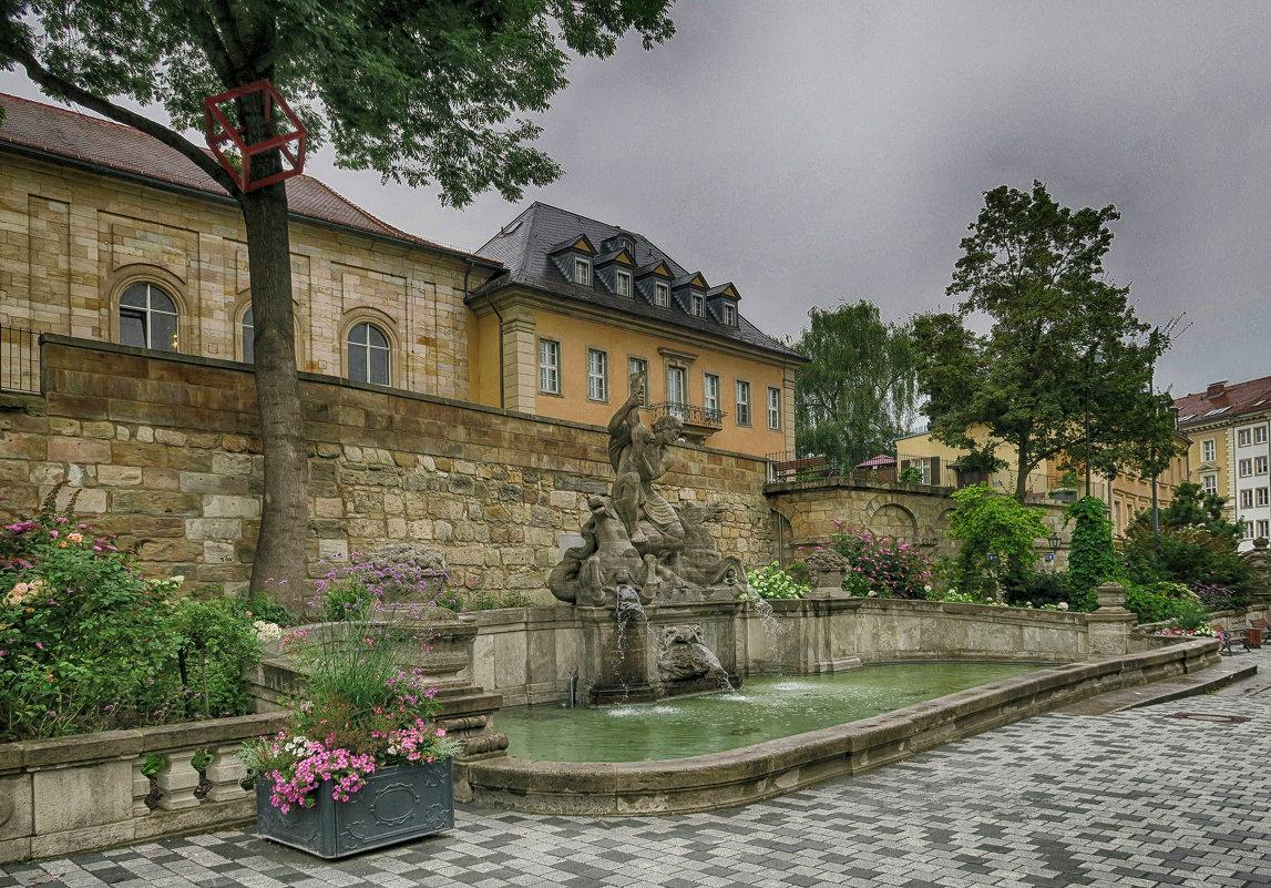 Средневековый фонтан - Евгений Кривошеев