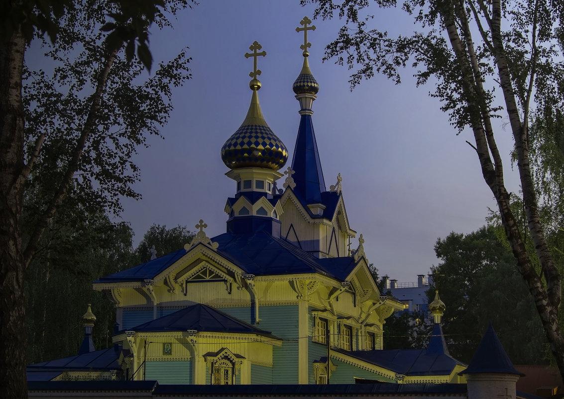 Успенский храм! Ижевск – город в котором я живу! - Владимир Максимов